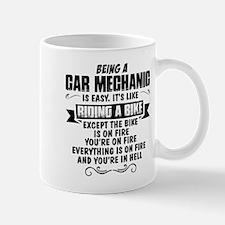 Being A Car Mechanic.... Mugs