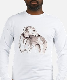 Unique Whippet Long Sleeve T-Shirt