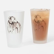 Funny Galgo Drinking Glass