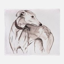 Unique Greyhound Throw Blanket