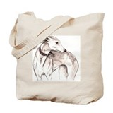 Greyhound Canvas Totes