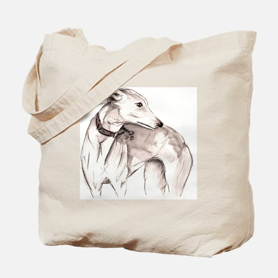 Funny Greyhound Tote Bag