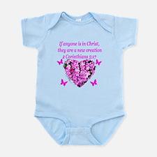 2 Corinthians 5:17 Infant Bodysuit