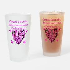 2 Corinthians 5:17 Drinking Glass