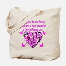 2 Corinthians 5:17 Tote Bag