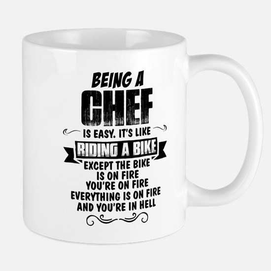 Being A Chef... Mugs