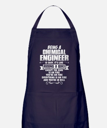Being A Chemical Engineer... Apron (dark)