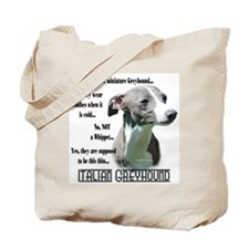 Iggy FAQ Tote Bag