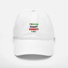 I love my crazy Kuwaiti family Baseball Baseball Cap