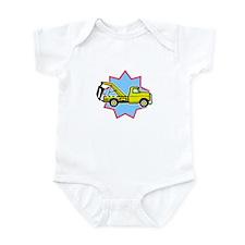 Tow Truck Infant Bodysuit