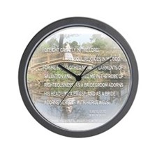 Reflections of Life Wall Clock