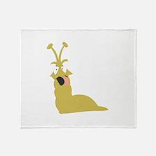 Slug Throw Blanket