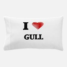I love Gull Pillow Case