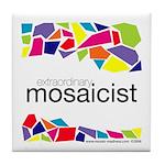 Extraordinary Mosaicist Tile Coaster