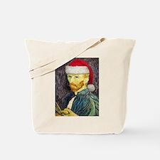 Van Gogh Santa Tote Bag