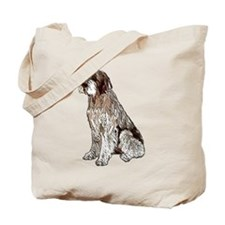 Wirehaired Pointing Griffon P Tote Bag