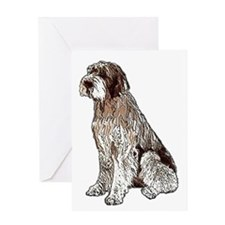 Wirehaired Pointing Griffon P Greeting Card