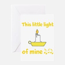 This Little Light Of Mine Greeting Cards