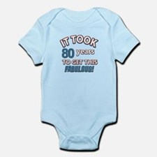 74 Years Birthday Designs Infant Bodysuit