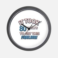 74 Years Birthday Designs Wall Clock