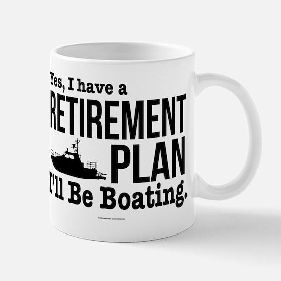 Boating Retirement Mugs