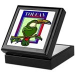 Toucan Keepsake Box