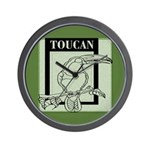 Toucan Wall Clock