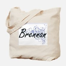 Brennan surname artistic design with Flow Tote Bag
