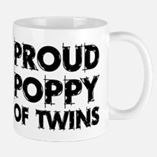 Proud Poppy Of Twins Mug