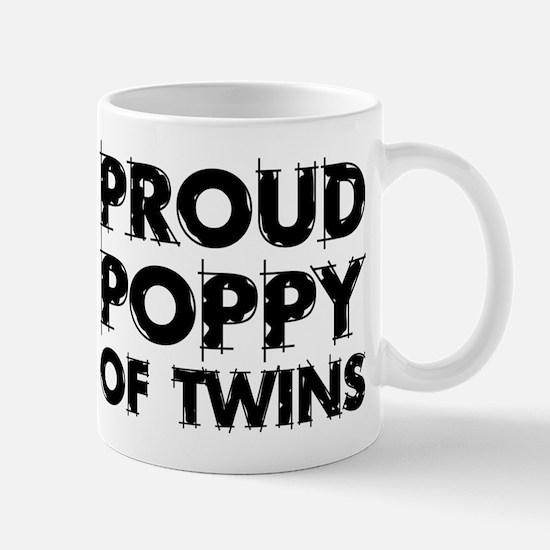 Proud Poppy Of Twins Mug