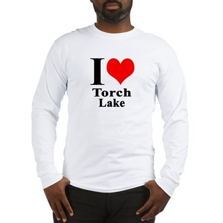 I heart Torch Lake Long Sleeve T-Shirt