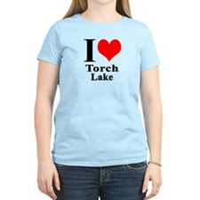 I heart Torch Lake T-Shirt