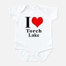 I heart Torch Lake Infant Bodysuit