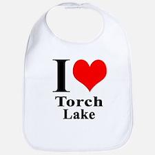 I heart Torch Lake Bib