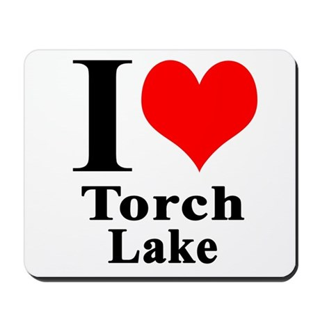I heart Torch Lake Mousepad