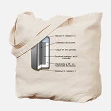 Alkaline Battery Tote Bag