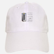 Alkaline Battery Baseball Baseball Cap