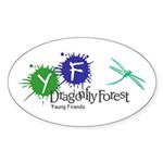 Young Friends of the Forest Oval Sticker