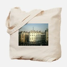Paris Apartments and Eiffel T Tote Bag