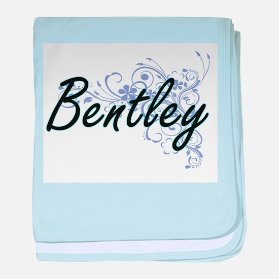 Bentley surname artistic design with baby blanket