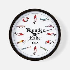 Thunder Lake Clocks Wall Clock