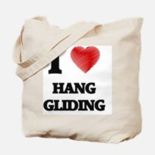 I love Hang Gliding Tote Bag