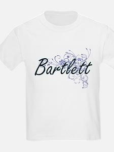 Bartlett surname artistic design with Flow T-Shirt