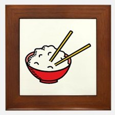 Bowl Of Rice Framed Tile