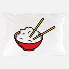 Bowl Of Rice Pillow Case