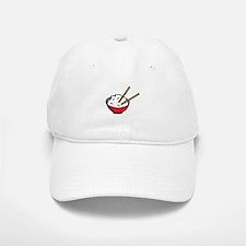 Bowl Of Rice Baseball Baseball Cap