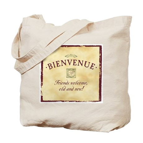 Bienvenue -- A French Welcome Tote Bag