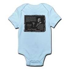 Foucault's Critique Infant Bodysuit