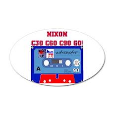NIXON C30 C60 C90 GO! Wall Decal