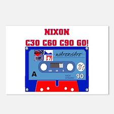 NIXON C30 C60 C90 GO! Postcards (Package of 8)